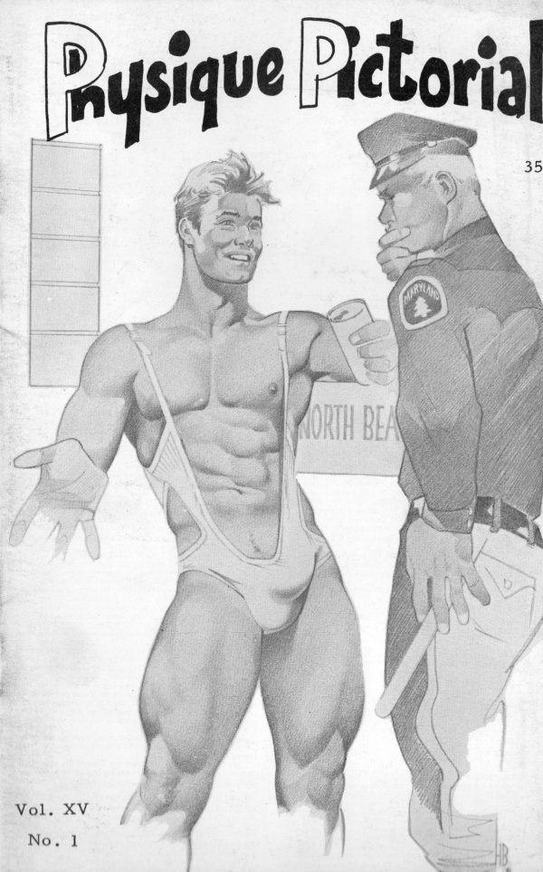 Physique Pictorial (Volume 15 #1 1965 - Released October 1965) Gay Male Nudes Physique Digest Magazine