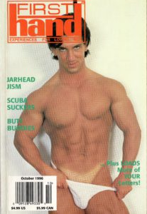 First Hand Experiences for Men (Volume 16 #11 1996 - Released October 1996) Gay Male Digest Magazine