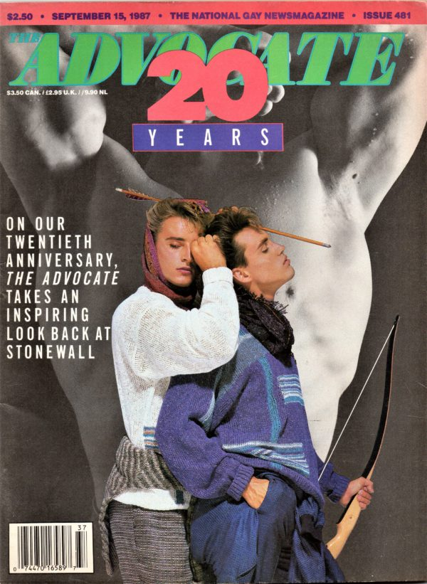 The ADVOCATE Magazine (September 1987) The National Gay News Magazine