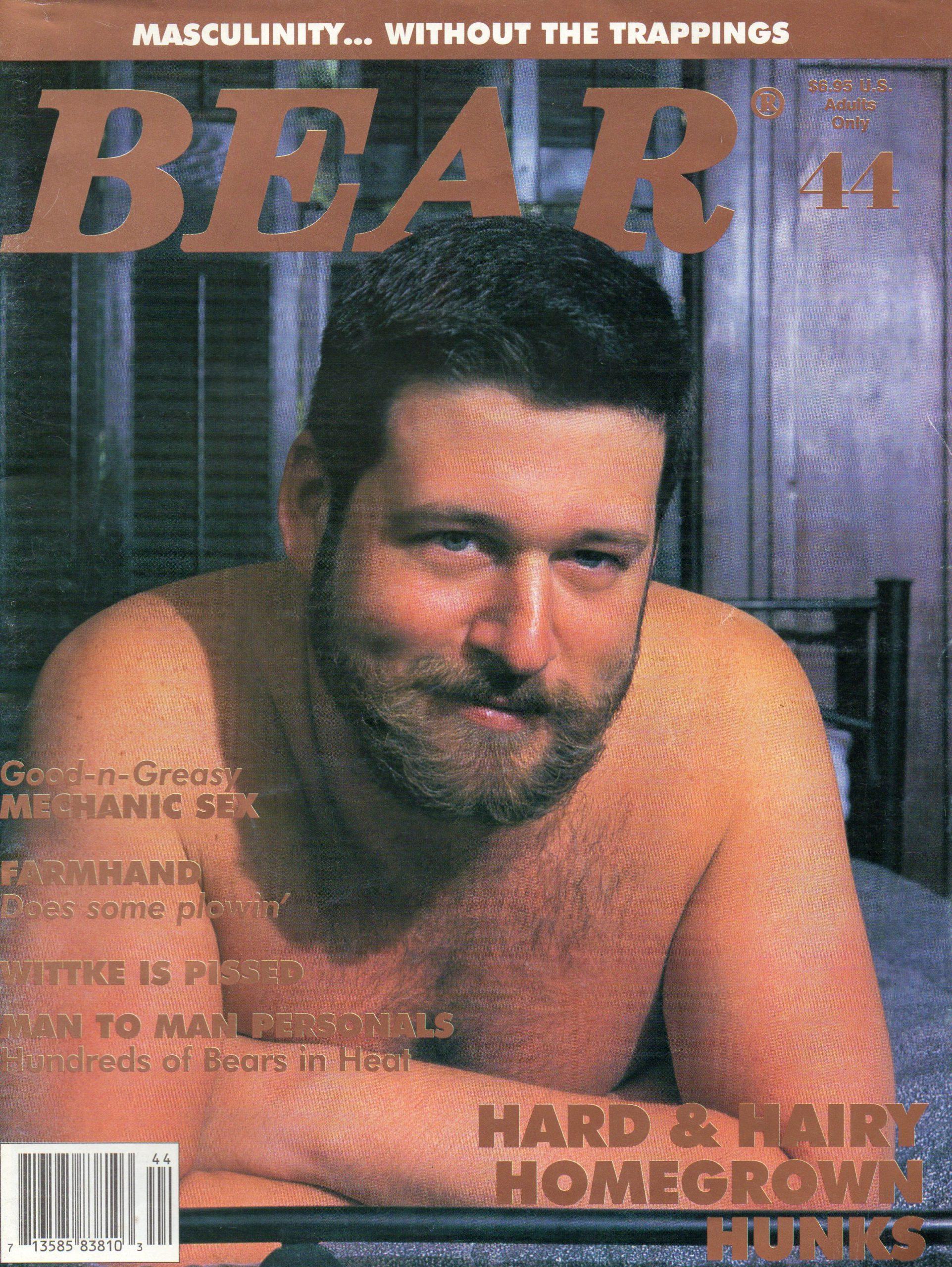 BEAR Magazine (Issue 44) Gay Male Digest Magazinev