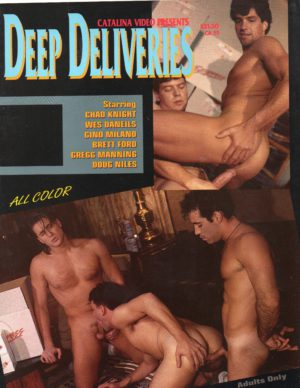 Catalina Video Presents - DEEP DELIVERIES - Gay Full Color Illustrated Photo Magazinev
