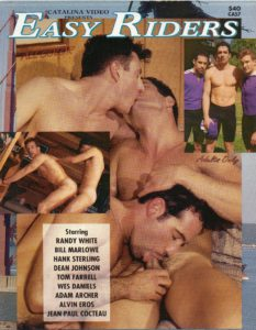 Catalina Video Presents - EASY RIDERS (Released 1992) - Gay Full Color Illustrated Photo Magazine
