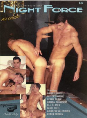 Catalina Video Presents - NIGHT FORCE - Gay Full Color Illustrated Photo Magazine