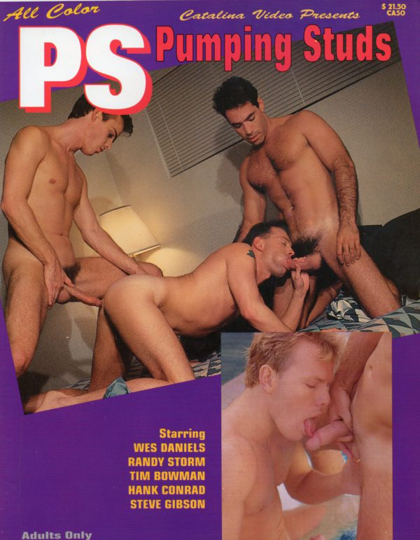 Catalina Video Presents - PS PUMPING STUDS - Gay Full Color Illustrated Photo Magazine