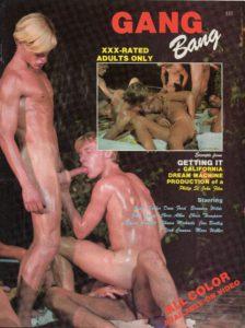 California Dream Machine - GANG BANG - Gay Full Color Illustrated Photo Magazine