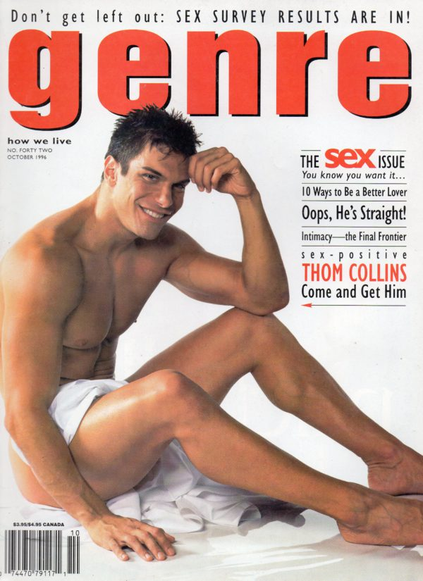 GENRE Magazine (October 1996, No.42) Gay Men's Lifestyle Magazine