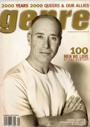 GENRE Magazine (December/January 2000, No.77) Gay Men's Lifestyle Magazine