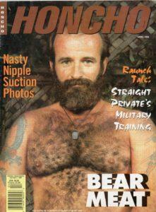 HONCHO Magazine (April 1996) Gay Male Digest Magazine