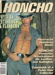 HONCHO Magazine (April 1997) Gay Male Digest Magazine
