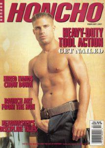 HONCHO Magazine (February 1997) Gay Male Digest Magazine