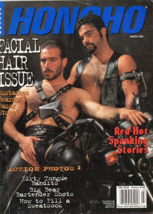 HONCHO Magazine (March 1996) Gay Male Digest Magazine