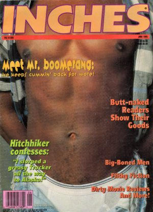 INCHES Magazine (August 1992) Gay Pictorial Lifestyle Magazine