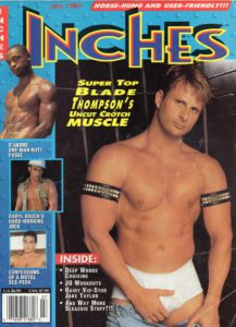 INCHES Magazine (July 1997) Gay Pictorial Lifestyle Magazine