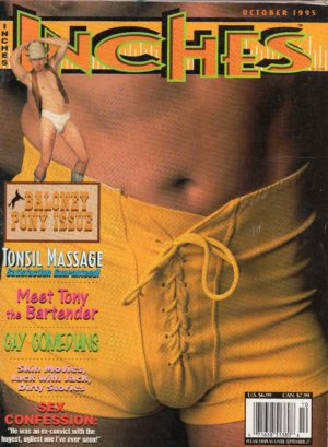 INCHES Magazine (October 1995) Gay Pictorial Lifestyle Magazine