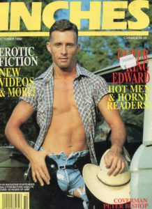 INCHES Magazine (October 1992) Gay Pictorial Lifestyle Magazine