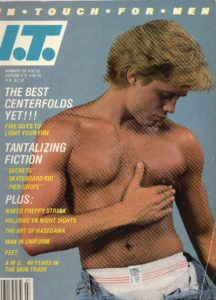 IN TOUCH FOR MEN Magazine (Number 107) Gay Male Digest Magazine
