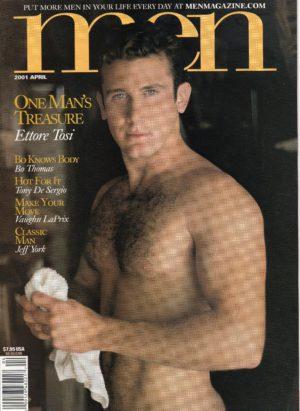 MEN Magazine (April 2001) Male Erotic Magazine