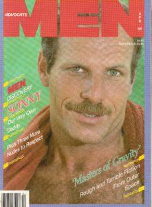Advocate MEN Magazine (April 1986) Male Erotic Magazine