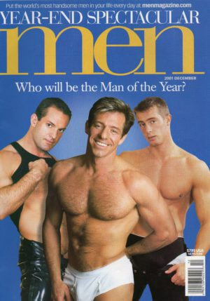 MEN Magazine (December 2001) Male Erotic Magazine