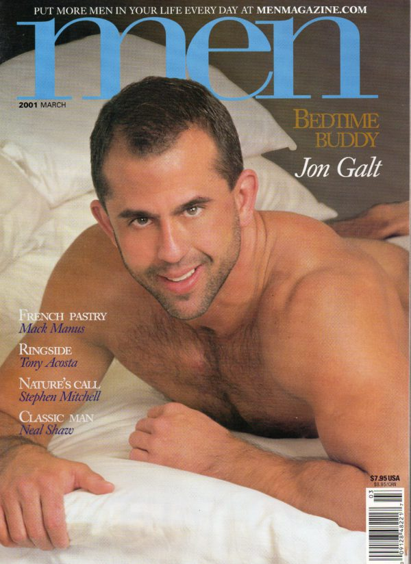 MEN Magazine (March 2001) Male Erotic Magazine