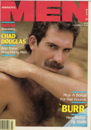 Advocate MEN Magazine (March 1986) Male Erotic Magazine