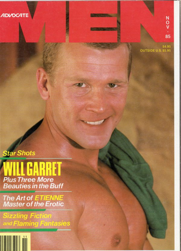 Advocate MEN Magazine (November 1985) Male Erotic Magazine