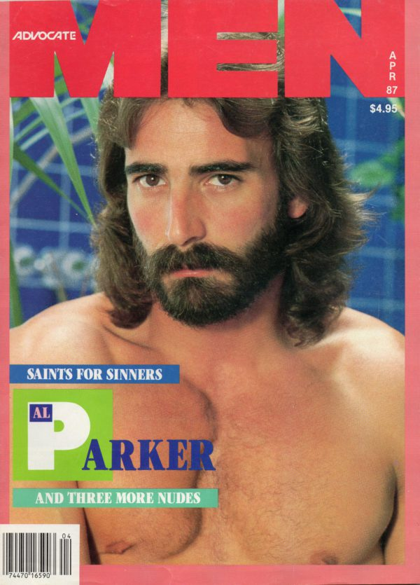 ADVOCATE MEN Magazine (April 1987) Male Erotic Magazine