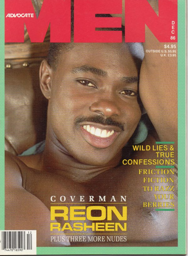 ADVOCATE MEN Magazine (December 1986) Male Erotic Magazine