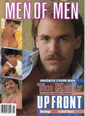 MEN OF ADVOCATE MEN Magazine (January 1988) Male Erotic Magazine