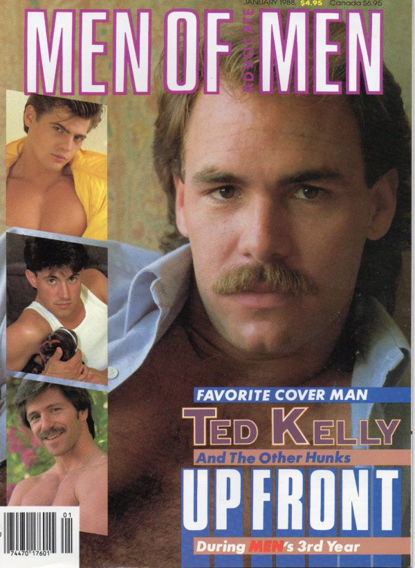 MEN OF ADVOCATE MEN Magazine (January 1988) Male Erotic Magazine