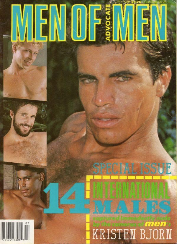MEN OF ADVOCATE MEN Magazine (July 1988) Male Erotic Magazine