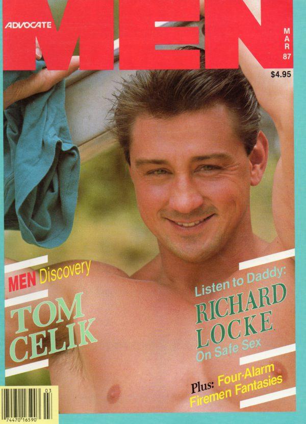 ADVOCATE MEN Magazine (March 1987) Male Erotic Magazine