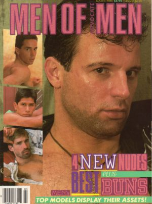 MEN OF ADVOCATE MEN Magazine (March 1988) Male Erotic Magazine