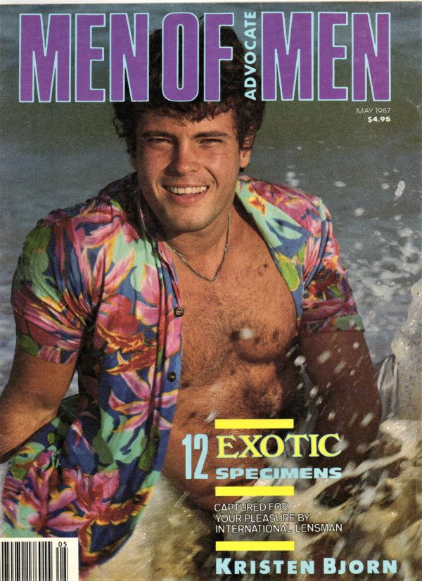 MEN OF ADVOCATE MEN Magazine (May 1987) Male Erotic Magazine