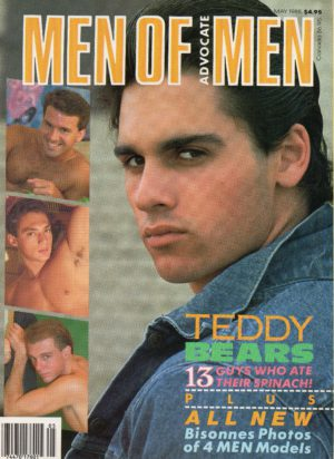 MEN OF ADVOCATE MEN Magazine (May 1988) Male Erotic Magazine