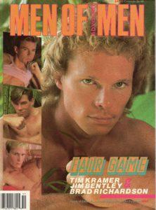 MEN OF ADVOCATE MEN Magazine (November 1987) Male Erotic Magazine