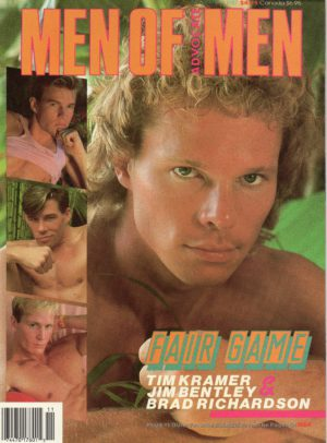 MEN OF ADVOCATE MEN Magazine (November 1987) Male Erotic Magazine