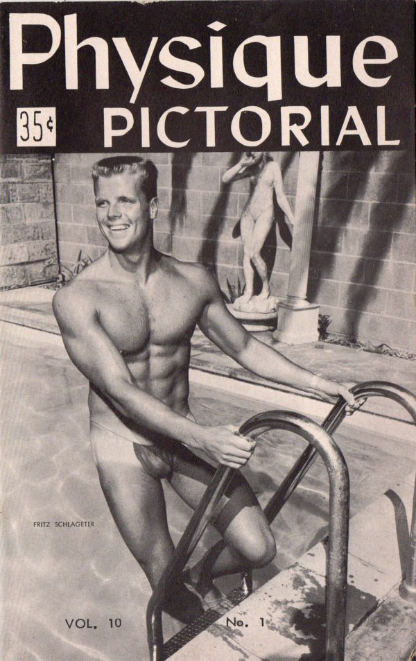 Physique Pictorial (Volume 10 #1 - Released June 1960) Gay Male Nudes Physique Digest Magazine