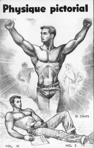 Physique Pictorial (Volume 10 #2 - Released August 1960) Gay Male Nudes Physique Digest Magazine