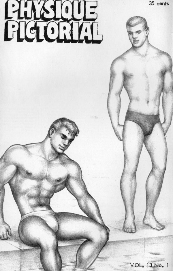 Physique Pictorial (Volume 13 #1 - Released August 1963) Gay Male Nudes Physique Digest Magazine