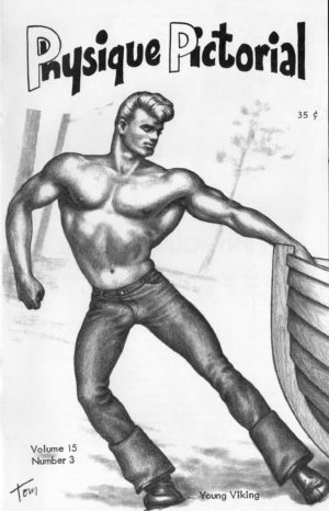 Physique Pictorial (Volume 15 #3 - Released June 1966) Gay Male Nudes Physique Digest Magazine