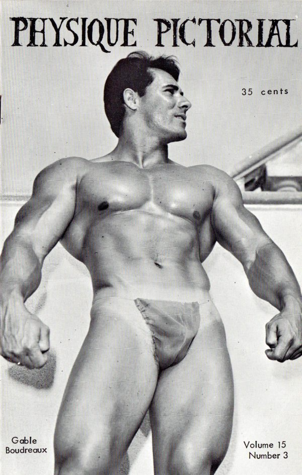 Physique Pictorial (Volume 15 #3-4 - Released September 1966) Gay Male Nudes Physique Digest Magazine