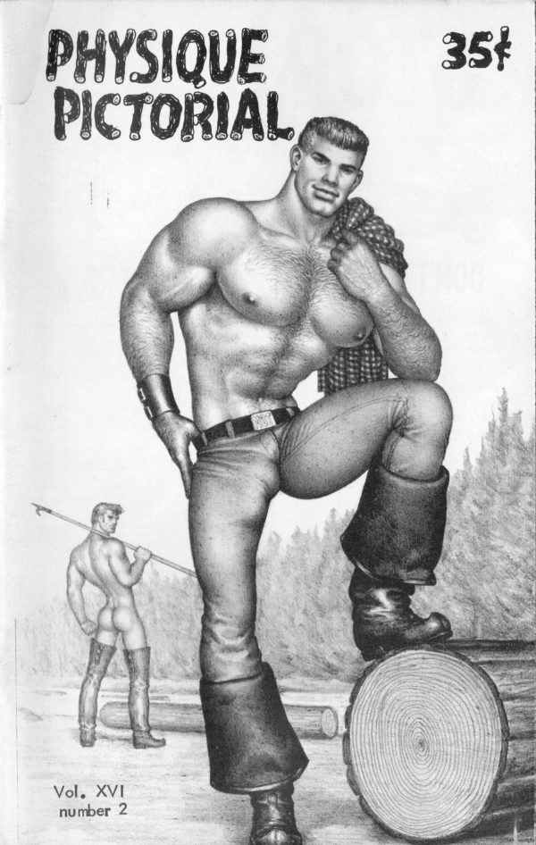 Physique Pictorial (Volume 16 #2 - Released April 1967) Gay Male Nudes Physique Digest Magazine