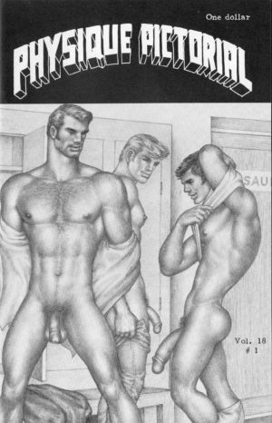 Physique Pictorial (Volume 18 #1 - Released November 1970) Gay Male Nudes Physique Digest Magazine
