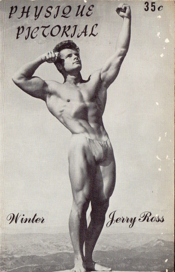 Physique Pictorial (Volume 5 #4 - Released Winter 1955) Gay Male Nudes Physique Digest Magazine