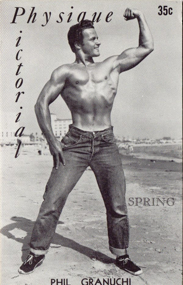 Physique Pictorial (Volume 6 #1 - Released Spring 1956) Gay Male Nudes Physique Digest Magazine