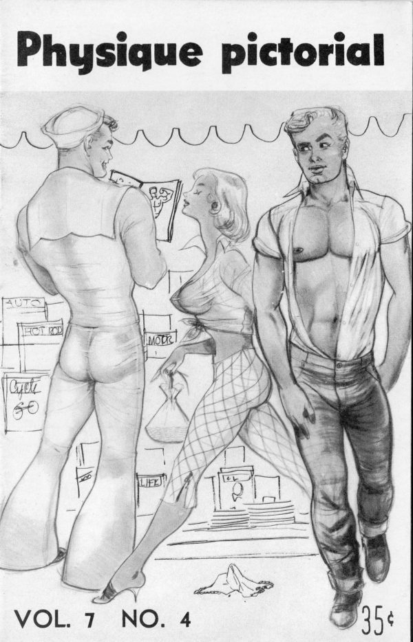 Physique Pictorial (Volume 7 #4 - Released Winter 1957) Gay Male Nudes Physique Digest Magazine