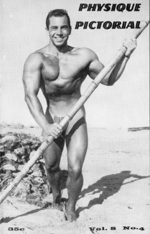 Physique Pictorial (Volume 8 #4 - Released March 1959) Gay Male Nudes Physique Digest Magazine