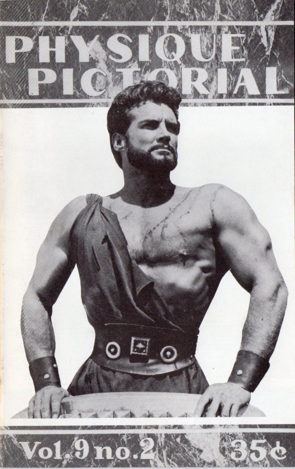 Physique Pictorial (Volume 9 #2 - Released Summer 1959) Gay Male Nudes Physique Digest Magazine