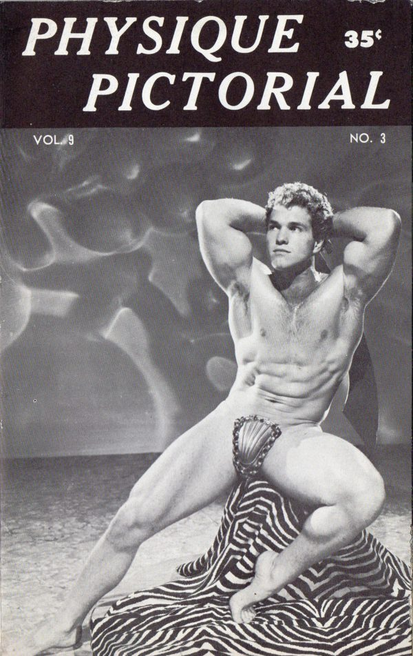 Physique Pictorial (Volume 9 #3 - Released January 1960) Gay Male Nudes Physique Digest Magazine